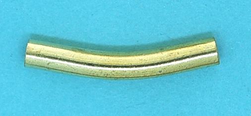 Spacer Bead   Gilt base metal