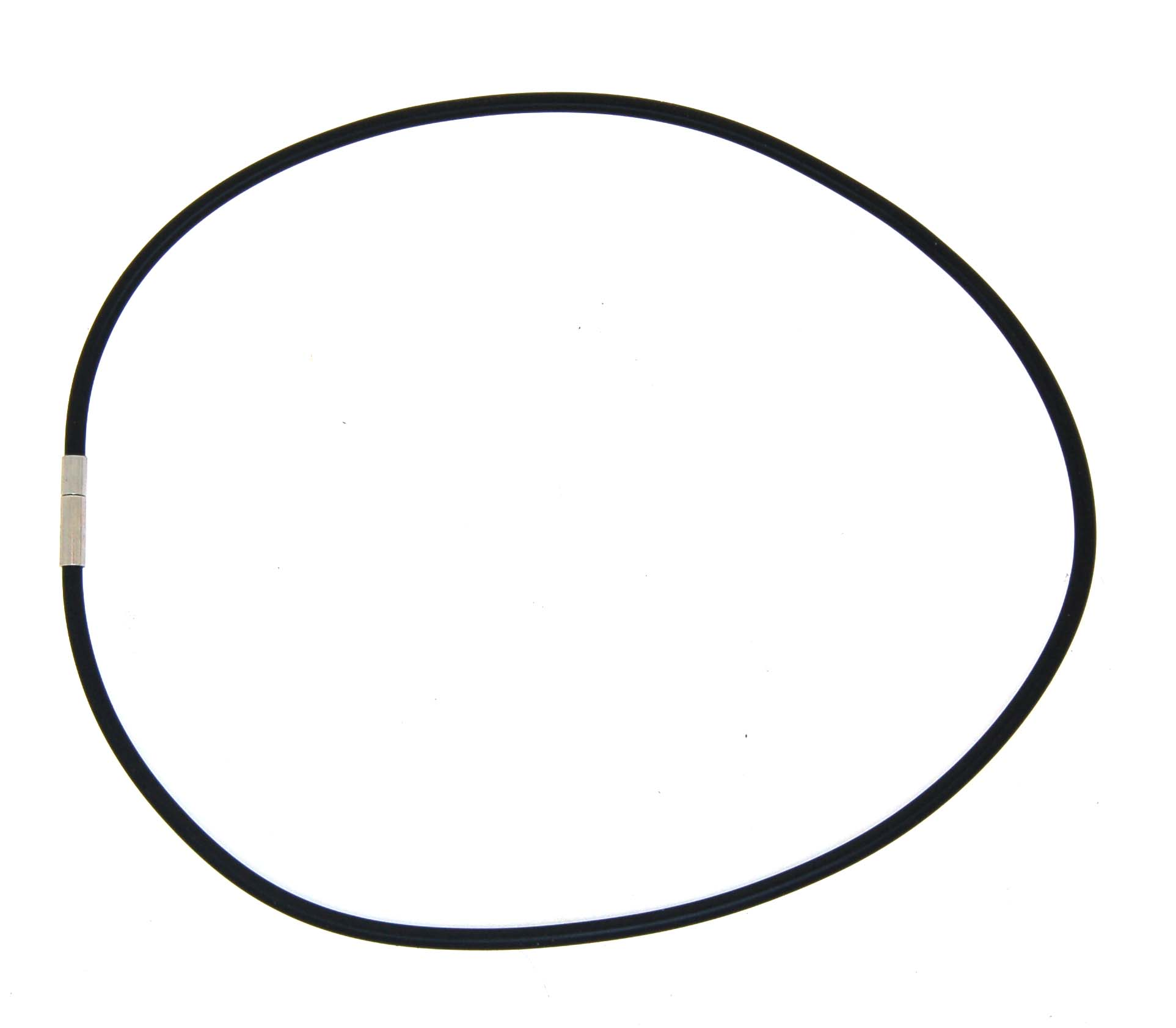 Neoprene Necklace with Pop Tube Clasp (3.0mm)