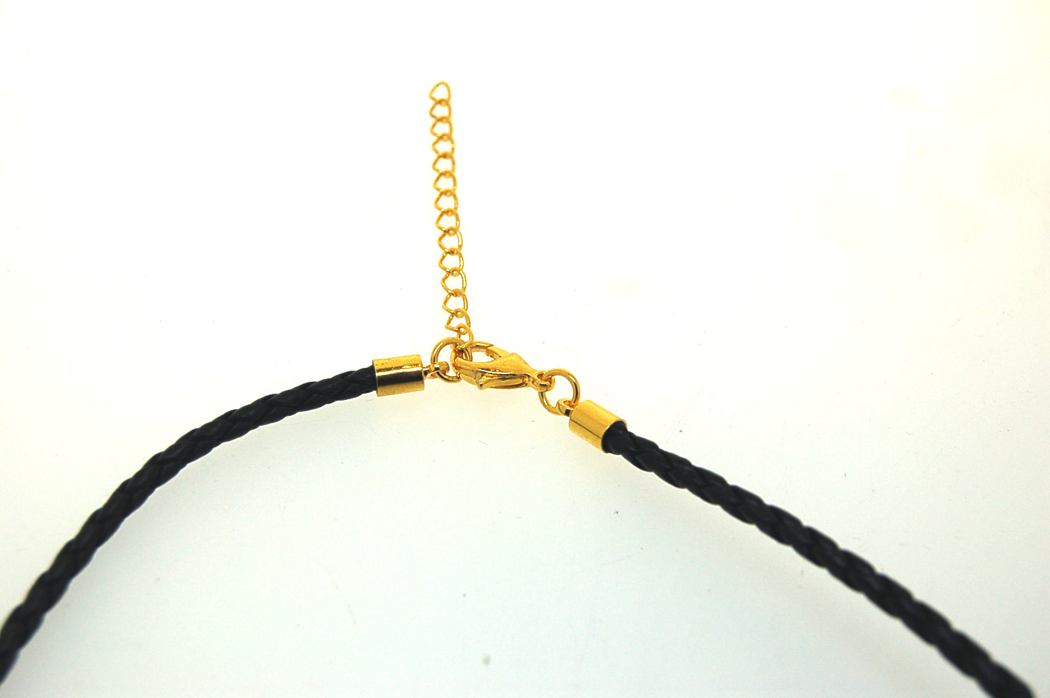Bolar Leather Chocker 3.0mm with Gold Plate Parrot Clasp