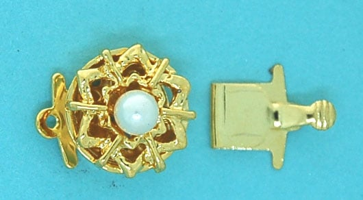 Clasp with Pearl