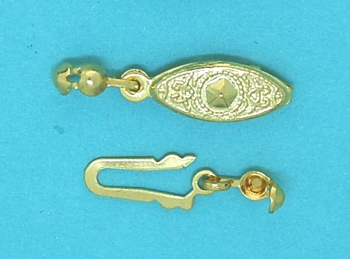 Pearl Clasp Gold Plate
