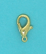 Gilt Parrot Clasp | Medium