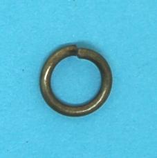 Steel Jump Ring Antique Brass (10mm)