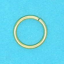 Jump Ring Gold/Silver (10mm)