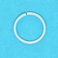 Jump Ring Silver Plate (10mm)