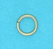 Gilt Jump Rings (4.0mm)