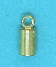 Ends Necklace Gilt Inside (3.0mm)