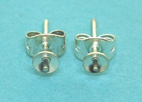 Earstud with Cup (4.0mm)