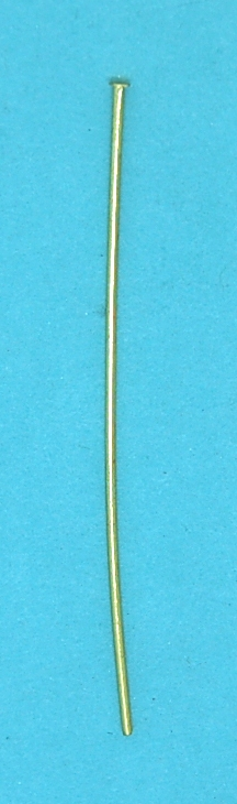 HEAD PIN Gilt (76mm)