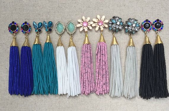 JEWELLERY TREND: Tassel Earrings