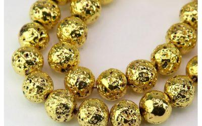 Lava Rock Beads