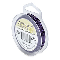 • Artistic Wire, 22 Gauge (.64 mm), Dark Blue, 15 yd (13.7 m)