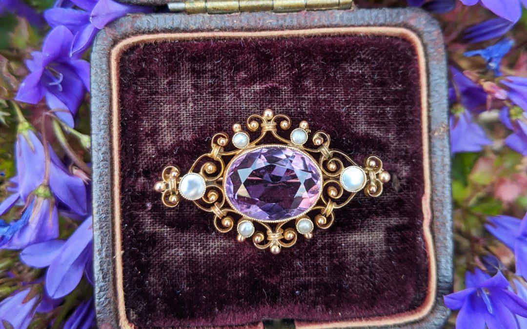 Restoring vintage jewellery